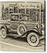 Antique Pickup Truck Acrylic Print