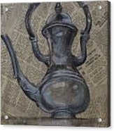 Antique Pitcher Acrylic Print by Kathy Weidner