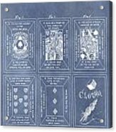 Antique Playing Cards Acrylic Print