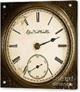 Antique Pocket Watch Acrylic Print