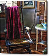 Antique Rocking Chair Acrylic Print