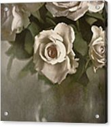 Antique Roses Acrylic Print