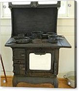 Antique Stove Number 2 Acrylic Print