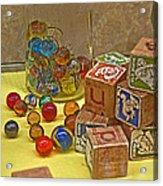 Antique Toys Acrylic Print
