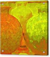 Antique Vases Acrylic Print