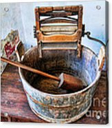 Antique Washing Machine Acrylic Print