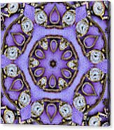 Antique Watch Kaleidoscope Acrylic Print