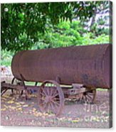 Antique Water Tank - No 2 Acrylic Print