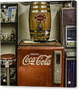 Antiques - Murray's Root Beer And Coca Cola Acrylic Print