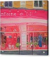 Antoine & Lili, 2010 Oil On Canvas Acrylic Print