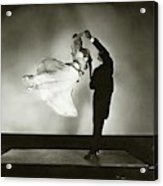 Antonio And Renee De Marco Dancing Acrylic Print