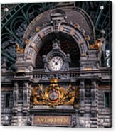 Antwerp Central Acrylic Print