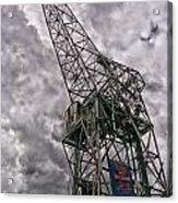 Antwerp Crane Acrylic Print