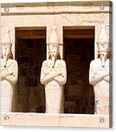 Anubis Acrylic Print by A Rey