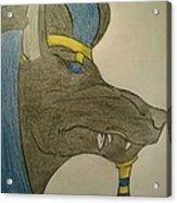 Anubis  Acrylic Print
