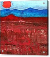 Anza-borrego Vista Original Painting Acrylic Print