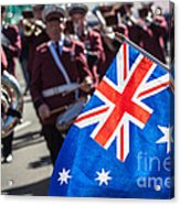 Anzac Day In Perth  Acrylic Print