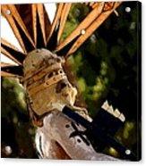 Apache Dancer Acrylic Print