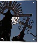 Apache Dancers Acrylic Print