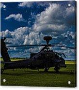 Apache Gun Ship Acrylic Print