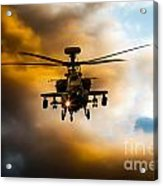 Apache Hunter  Acrylic Print