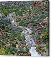Apache Trail River View Acrylic Print