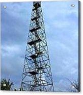 Apalachee Fire Tower In Morgan County Acrylic Print