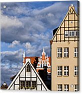 Apartment Houses In Gdansk Acrylic Print