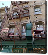 Apartment To Let At Finnegans Acrylic Print