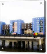 Apartments Rotterdam Acrylic Print
