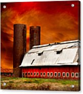 Apocalypse At Rolling Fork Acrylic Print by T Lowry Wilson