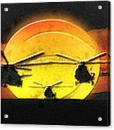 Apocalypse Now Acrylic Print by Mo T