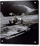 Apollo 15 Lunar Rover Acrylic Print