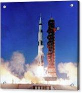 Apollo 8 Launch Acrylic Print