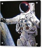 Apollo 9 - Schweickart On The Porch Acrylic Print