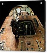Apollo Space Capsule Acrylic Print
