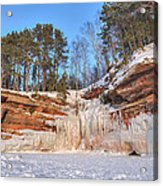Apostle Islands Winter  Acrylic Print