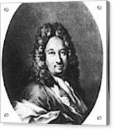 Apostolo Zeno (1668-1750) Acrylic Print