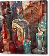 Apothecary - A Series Of Bottles Acrylic Print