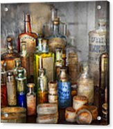 Apothecary - For All Your Aches And Pains  Acrylic Print