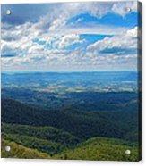 Appalachain Trail View Acrylic Print