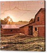 Appalachian Barns Acrylic Print