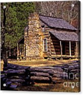 Appalachian Homestead Acrylic Print by Paul W Faust -  Impressions of Light