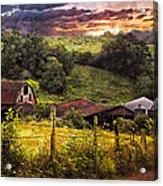 Appalachian Mountain Farm Acrylic Print