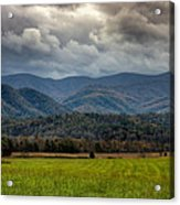 Appalachian Mountain Range Gsmnp Acrylic Print by Paul Herrmann