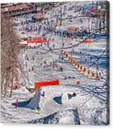Appalachian Mountain Ski Resort Near Blowing Rock Acrylic Print