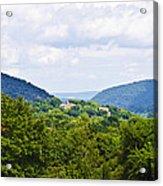 Appalachian Mountains West Virginia Acrylic Print
