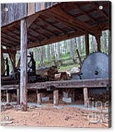 Appalachian Saw Mill Acrylic Print
