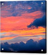 Appalachian Sunset Acrylic Print