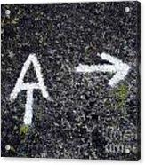 Appalachian Trail Symbol Acrylic Print